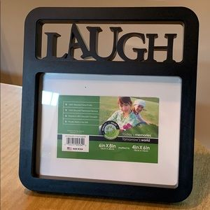 NEW Set of Two picture photo frames with sayings